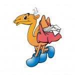 верблюд рисованный персонаж